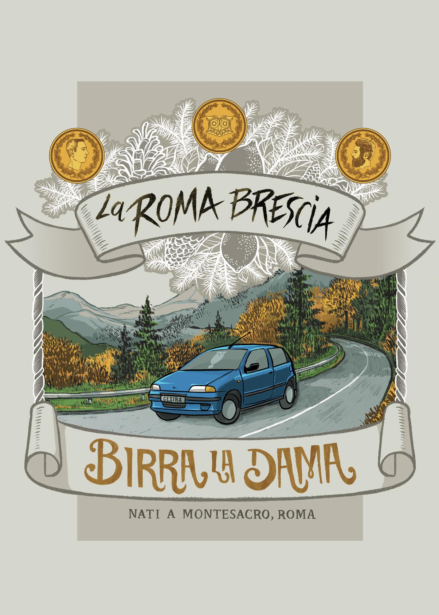 La Roma Brescia